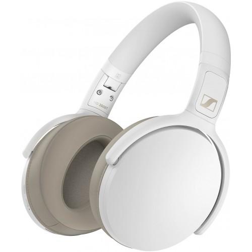 Sennheiser HD 350BT Around-Ear Bluetooth 5.0 Wireless Headphones (White)