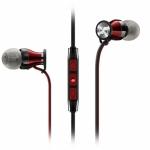 Sennheiser HD1 Black-Red In-Ear Headphones (Galaxy)