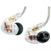 Shure SE535-CL Sound Isolating Earphones- Clear