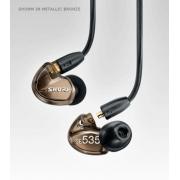 Shure SE535-V Sound Isolating Earphones in Metallic Bronze