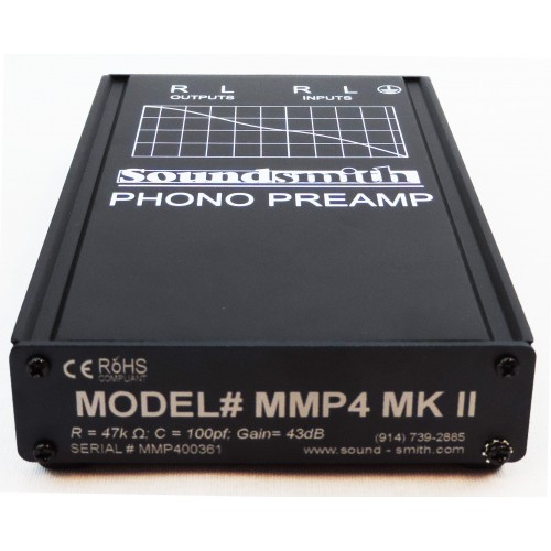 Soundsmith MMP4 MKII Moving Magnet Phono Preamplifier