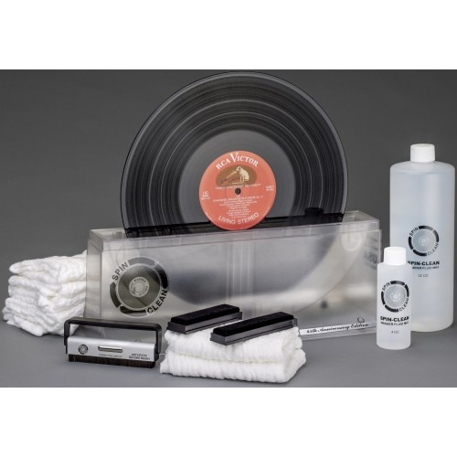 "Spin-Clean Ltd-Edition 45th Anniversary Record Washer MKII ""Clear"" Deluxe Kit"