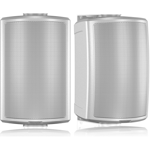 """Tannoy AMS 5DC White 5"""" Dual Concentric All-Weather Speakers (PAIR)"""