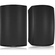 "Tannoy AMS 8DC Black 8"" Dual Concentric All-Weather Speakers (PAIR)"