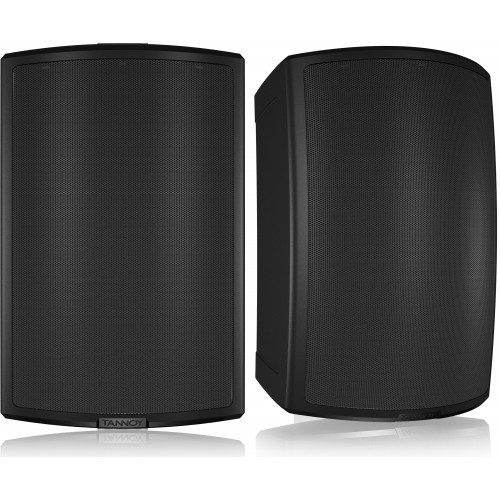 """Tannoy AMS 8DC Black 8"""" Dual Concentric All-Weather Speakers (PAIR)"""