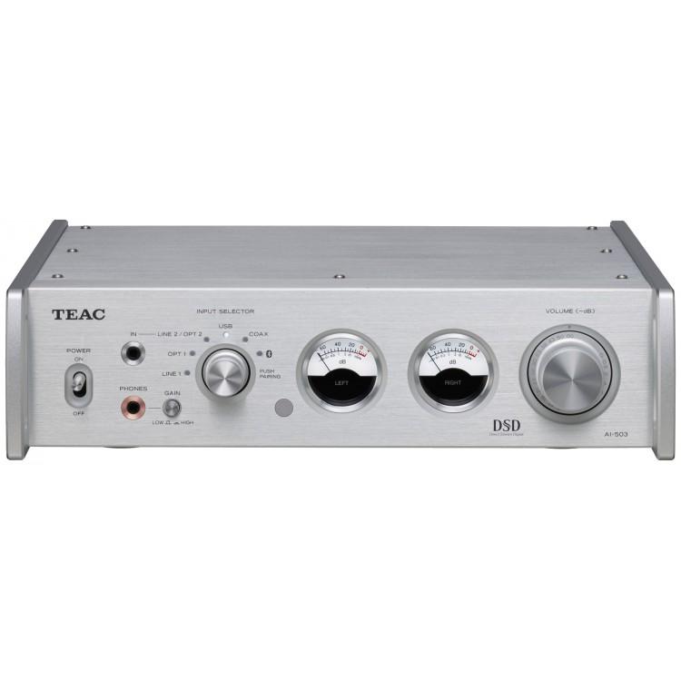 Teac Ai 503 Usb Dac Integrated Amplifier Silver
