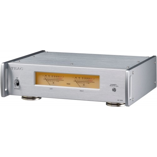 TEAC AP-505 Ultra-Compact Stereo Power Amplifier (Silver)