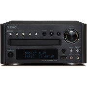 TEAC DR-H338i DVD/CD Receiver with USB & iPod (Black)