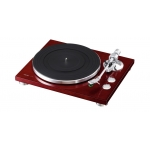 TEAC TN-300 Turntable - Belt-drive analog Record Player (Cherry)