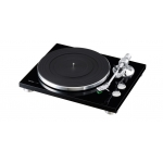TEAC TN-300 Turntable - Belt-drive analog Record Player (Black)