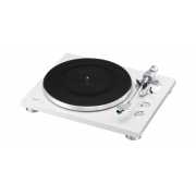 TEAC TN-300 Turntable - Belt-drive analog Record Player (White)