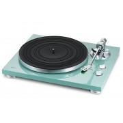 TEAC TN-300 Turntable - Belt-drive analog Record Player (Turquoise)