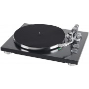 TEAC TN-350 Turntable - Belt-drive analog Record Player (Matte Black)