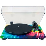 TEAC TN-420 Belt-Driven Turntable with S-Shaped Tonearm (Tie-Dye)
