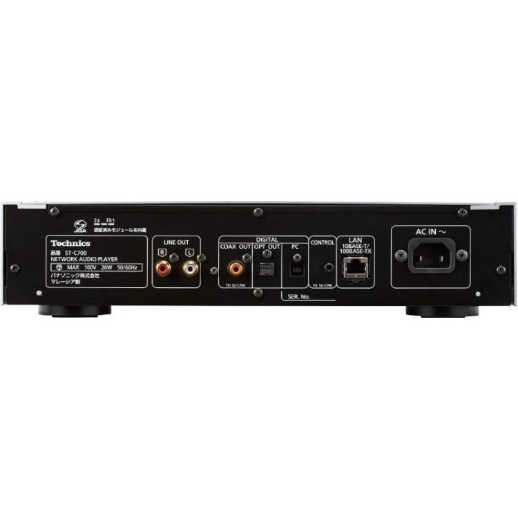 technics st c700 network audio player. Black Bedroom Furniture Sets. Home Design Ideas