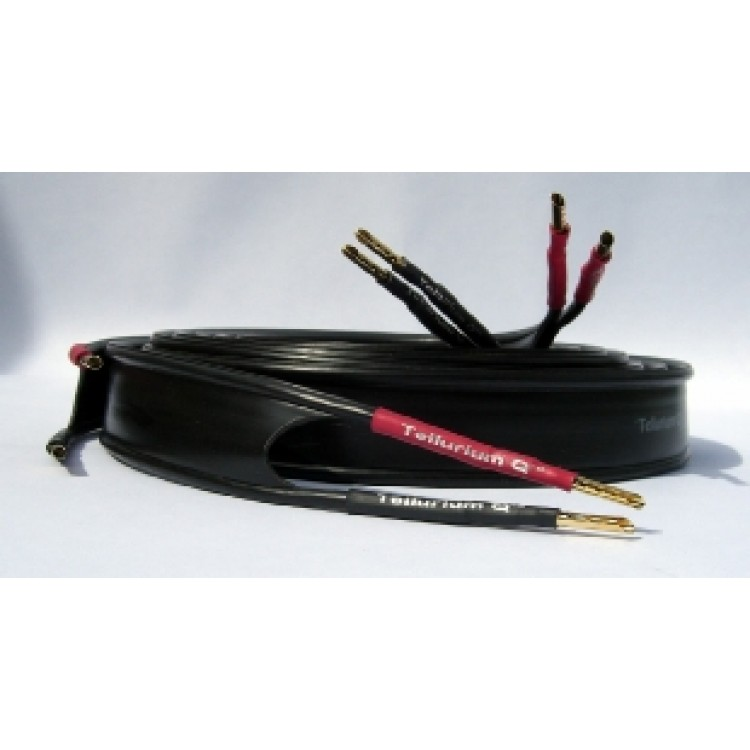 tellurium q ultra black speaker cables 2 meter length 1 pair. Black Bedroom Furniture Sets. Home Design Ideas