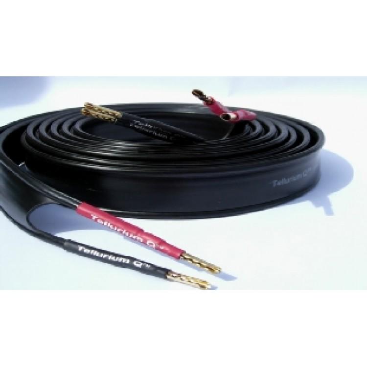tellurium q ultra black speaker cables 3 meter length 1 pair. Black Bedroom Furniture Sets. Home Design Ideas