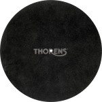 Thorens High-Quality Leather Turntable Platter Mat (Black)