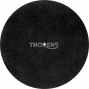 Thorens High-Quality Leather Turntable Platter Mat (Black)