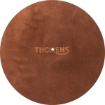 Thorens High-Quality Leather Turntable Platter Mat (Brown)
