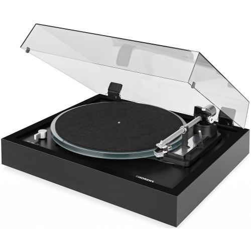 Thorens TD 148A Fully-Automatic 3-Speed Turntable (Black)