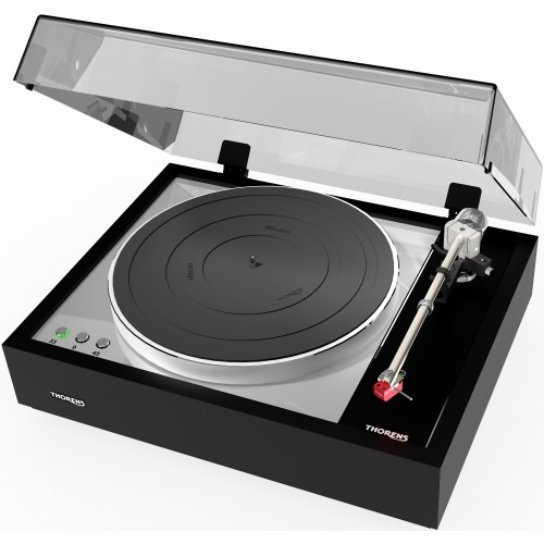 Thorens TD 1600 Classical Wooden Plinth Turntable (Black)