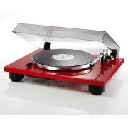 Thorens TD 206 Turntable (Gloss Red) w/THORENS TAS267 Cartridge