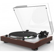 Thorens TD 402 DD Direct-Drive Turntable with Cartridge (High-Gloss Walnut)
