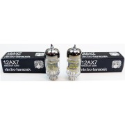 Electro-Harmonix Matched-Pair of 12AX7 EH Preamp Vacuum Tubes