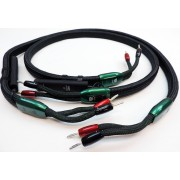 Audioquest Aspen 5' Speaker Cables with Silver-Rhodium Plated Bananas