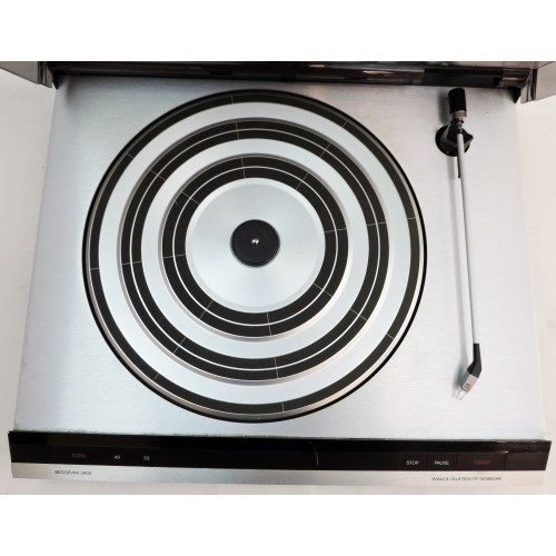 Bang & Olufsen B&O Beogram 3404 Vintage Turntable with Dust Cover