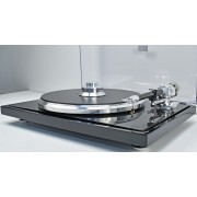 EAT C-Major Piano-Black/Carbon-Fiber Reference Turntable