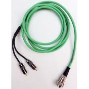 Naim SNAIC CHORD COBRA 2m 4 PIN DIN to dual Male RCA Cable