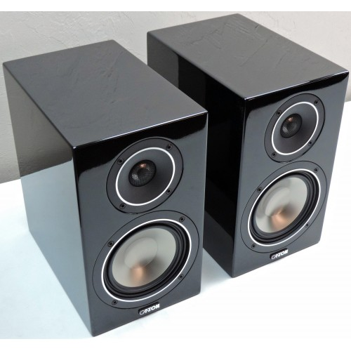 "CANTON Chrono SL 526 Piano-Black 6"" 2-Way Bookshelf Speakers"