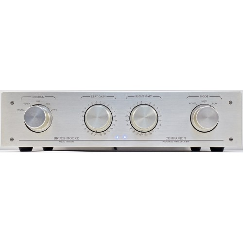 The Bruce Moore Audio Design Companion III Vacuum Tube Preamplifier