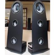 "EMERALD PHYSICS EP-2.8 Carbon-fiber 3-way dual-15"" Open-Baffle Speakers"