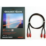 AudioQuest Golden Gate 1-meter RCA to RCA Audio Cable