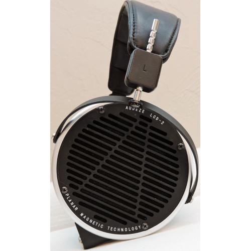 Audeze LCD-2 planar-magnetic Alloy-trim Headphones with Venus Cable