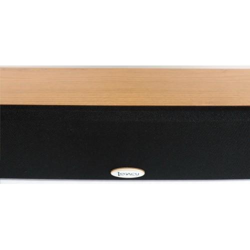 "Legacy Audio 48"" LCR high-end Soundbar (Natural-Cherry)"