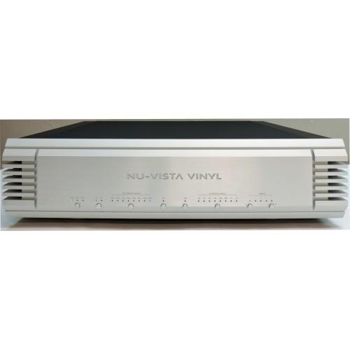 Musical Fidelity Nu-Vista Vinyl Tube-Balanced Phono Stage (Silver)