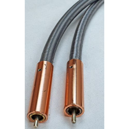 Organic Audio silver-plate high-purity copper RCA Interconnect Cables (2m)