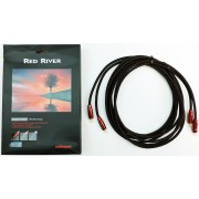 AudioQuest Red River directional 3-meter pair RCA Interconnects