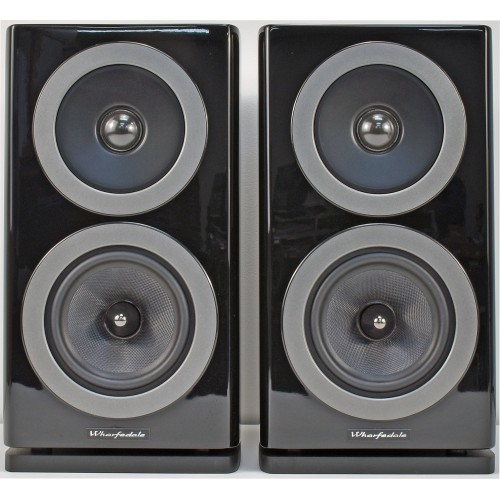 WHARFEDALE Reva-1 2-Way Gloss-Black Bookshelf Speakers