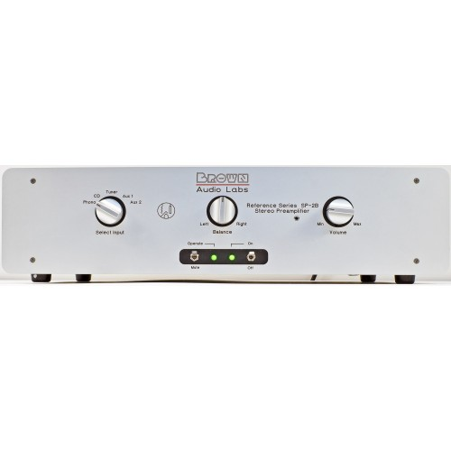 BROWN AUDIO LABS Reference SP-2B 6SL7/6SN7 Tube Preamp with MM Phono