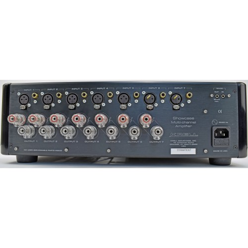 KRELL SHOWCASE 5 625-watt 5-Channel balanced Amp