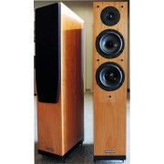 SPENDOR A5 Floorstanding Speakers (Genuine Cherry Finish)