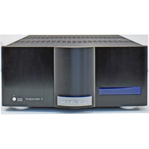 Krell Theater 7 XD 100-Watt 7-Channel Class-A Power Amplifier