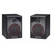 "CERWIN-VEGA! XD5 WOOD-CABINET 5"" 2-way 50-watt Powered Desktop Speakers"