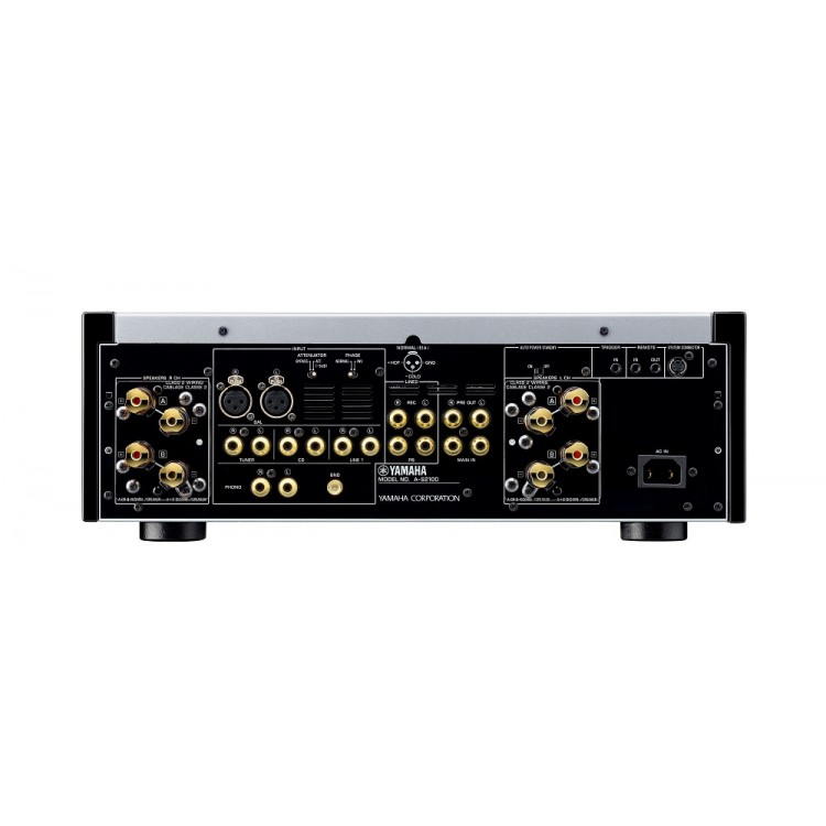 yamaha a s2100 silver integrated amplifier. Black Bedroom Furniture Sets. Home Design Ideas