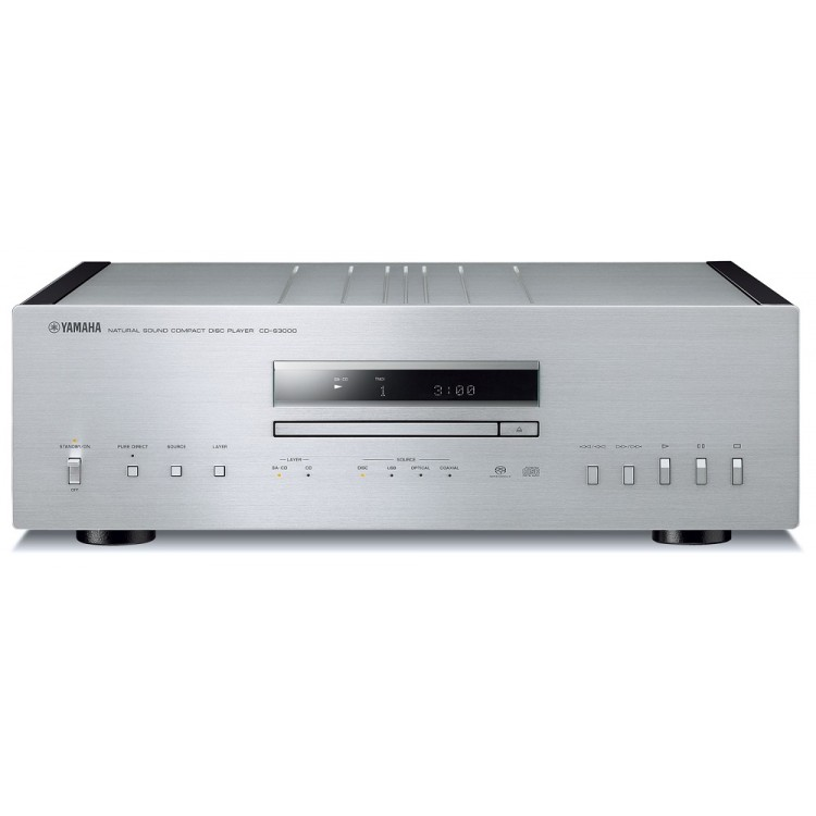 yamaha cd s3000 highest class cd player silver. Black Bedroom Furniture Sets. Home Design Ideas